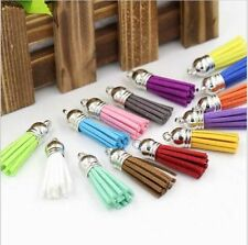 Wholesale lot color handmade DIY delicate tassel accessories pendant 15 PCS