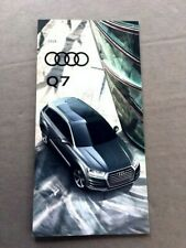 2019 Audi Q7 28-page Original Car Sales Brochure Catalog - Prestige Premium