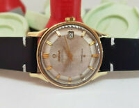 RARE VINTAGE 1966 OMEGA CONSTELLATION PIE PAN 18K CAP AUTO CAL:561 MAN'S WATCH