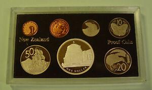"Neuseeland KMS 1978 mit 1 Dollar ""Parlamentsgebäude"" 925er Silber - PP"