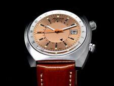 ALPINA STARTIMER PILOT HERITAGE AUTOMATIC GMT-Copper Dial- AL-555RGS4H6