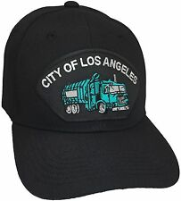 City Of Los Angeles Sanitation Truck Hat Color Black Adjustable