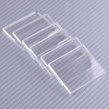 6x Clear Acrylic Stamping Rubber Plexiglass Thin Blocks Pads Card Crafts 45x55mm