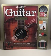 Learn to Play Guitar Set Kit Beginners Includes Book Picks Flashcards Stickers