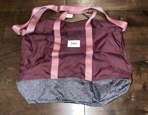 Victoria's Secret Pink VS Oversized Weekender Luggage Tote Bag NWT