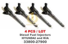 4PCS Bosch CRDI Diesel Fuel Injector 33800-27900, 0445110254, Hyundai, Kia