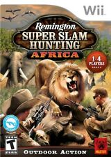 Remington Super Slam Hunting: Africa WII New Nintendo Wii