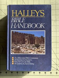 Halley's Bible Handbook LARGE PRINT E by Henry H. Halley (Hardcover, 1993)