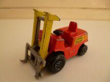 Fork Lift Truck - 1972 - Matchbox - Lesney - # 15 - Red - England