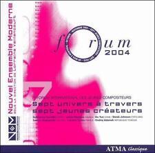 Forum 2004 (CD, Apr-2006, 2 Discs, ATMA Classique)