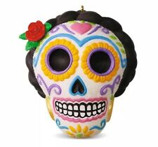 Hallmark 2016 Día de Los Muertos Day Of The Dead Halloween Sugar Skull Ornament