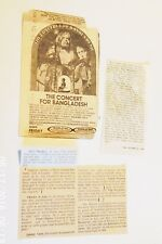 Beatles Memer.:A Collection of 3 small articles-two on Paul Living, George 1969
