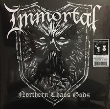 IMMORTAL - Northern Chaos Gods LP - White + Black Splatter Colored Vinyl Album