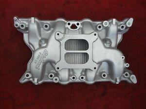 Edelbrock 2750 Ford 351C Cleveland 2v Aluminum 4 Barrel Intake Manifold 351 C