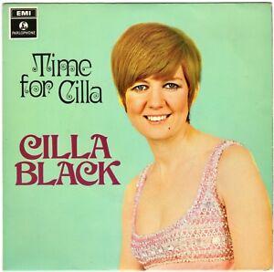 "7"" 45 EP Black, Cilla ""Time For Cilla"" EMI PARLOPHONE GEP 8967 UK! George Martin"