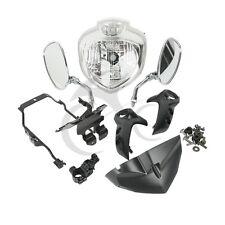 New Front Headlight Set Head Light Assembly For YAMAHA FZ6N 2007-2010 2009 2008