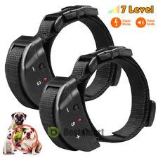 2X Upgrade Anti Barking No Bark Dog Training Shock Collar Medium/Large 25-150Lb
