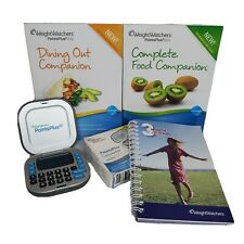 Weight Watchers WW Point Plus Calculator Dining Out Food Companion Books Journal