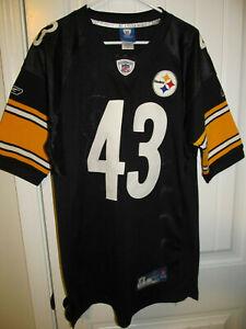 Troy Polamalu - Pittsburgh Steelers Authentic jersey - Reebok Adult 48