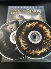 The Lord of the Rings: The Fellowship of the Ring Dvd 2 discs