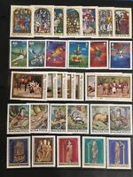 Hungary 157 MNH Stamps In Complete Sets. SCV $70+