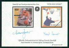 GERMANY SPORTS AID OLYMPIC COMMITTEE S/S UNISSUED DESIGNS BASKETBALL m2371