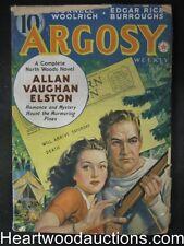 """""""Argosy"""" January 21, 1939 Burroughs Woolrich"""