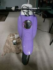 kids girl electric scooter