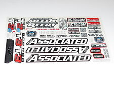 80937 TEAM ASSOCIATED RC8T3.1 TRUGGY DECALS