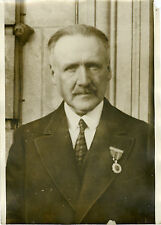 """Le Comte DEJEAN Ambassadeur en Argentine 1931"" Photo originale G. DEVRED / ROL"