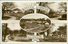 Botanic Gardens Glasgow Vintage Postcard Multi Views RP   AL.550