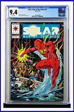 Solar Man Of The Atom #32 CGC Graded 9.4 Valiant April 1994 Comic Book