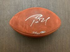 Tom Brady Autographed Football - UDA Authenticated 26 of 50 - Extremely Rare
