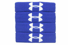 New Under Armour 1� Performance Wristband 4-Pack, Royal Blue