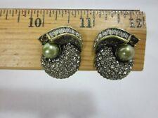 Heidi Daus Object D'Art Clip-On Earrings