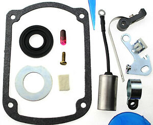 Magneto Points Condenser Kit fits Wisconsin engine TJD X2B7E Y80 Y80S1 Y80S2 E71