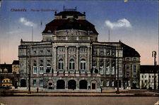 Chemnitz Sachsen 1933 Stadttheater Theater alte color AK gelaufen Großolbersdorf