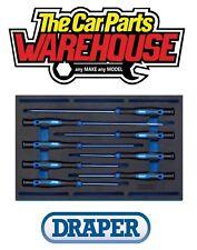 Draper 63399 Extra Long Precision Screwdriver 8 Piece Set in 1/4 Eva Insert Tray