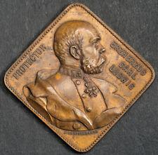"1892,Austria. ""Archduke Franz Ferdinand / Int. Music & Theatre Exposition"" Medal"