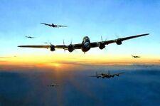 ROBERT TAYLOR Target Bearing 270° Lancaster Bomber 617 Squadron RAF Tirpitz 4Sig