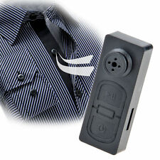 Mini Shirt Button Pinhole Hidden Spy Covert DVR Camera 30FPS 720x480