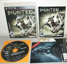 HUNTED THE DEMON'S FORGE PlayStation 3 w/Manual Local Co-op InXile Action RPG