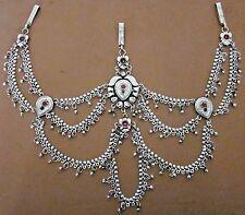 Womens Belt Vintage silver Retro Bohemian Festival Bellydance Skirt Pant Jewelry