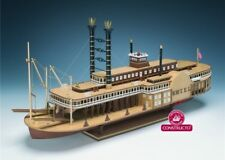 """New, classic wooden model ship kit by Constructo: the """"Robert E. Lee"""""""