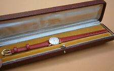 Vintage IWC Schaffhausen 18K Yellow solid Gold Watch wristwatch ladies /w Box