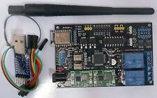 WiFi IoT Multi I/O relay motor ADC DAC I2C 1-wire for Arduino, Raspberry Pi