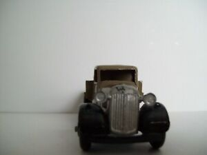 Dinky - Toys 25 Series Truck type 4 flat back grey 1948 deleted 1950