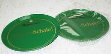 2x Gastro Tablett Wüllner's Braumeister Meister-Schale Getränketablett Gläsertab