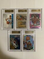 Anthony Davis BGS 9.5 5 Card Lot 2012 Panini RC Prizm Pelicans Lakers Gem Mint