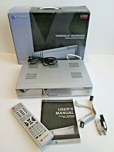 Viewsat 9000HD FTA Satellite Receiver 9000 HD with SK100 8PSK Module Coax Splitt